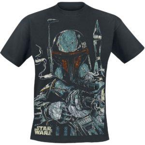 Comprar Star Wars Boba Fett Camiseta Negro