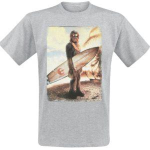 Comprar Star Wars Chewie On The Beach Camiseta Gris/Melé