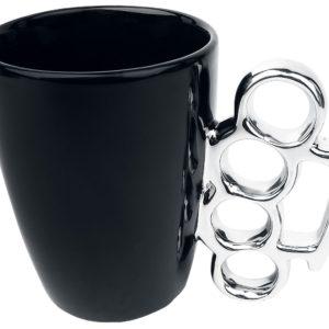 Comprar Taza de Diseño Asa Tazas negro/plateado