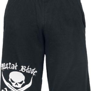 Comprar Metal Blade Pirate Logo Pantalones cortos Negro