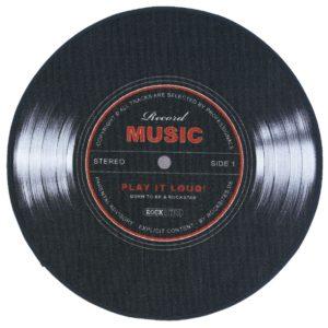 Comprar Record Music Alfombra Negro