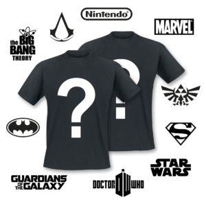 Comprar Lote Sorpresa Lote Sopresa Fan-Merch Superheroes & Nerds Conjunto de camisetas Standard