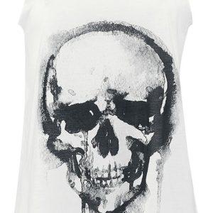 Comprar Innocent Skull Top Mujer Blanco roto