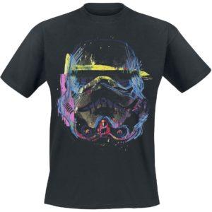Comprar Star Wars GOZOO - Imperial Stormtrooper - Neon Sketch Art Camiseta Negro