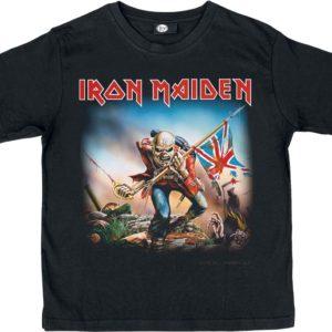 Comprar Iron Maiden The Trooper Camiseta de Niño/a Negro
