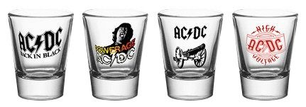 Comprar AC/DC Mix Set de chupitos transparente