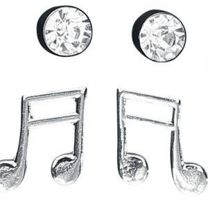 Comprar Blackheart Clefs & Music Set de pendientes Standard