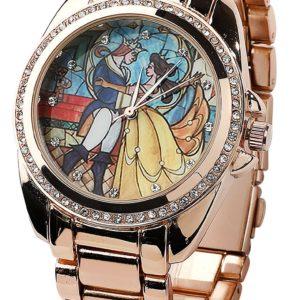 Comprar La Bella y La Bestia Belle Reloj de Pulsera Dorado
