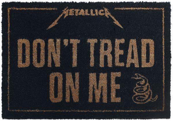 Comprar Metallica Don't Tread On Me Alfombra para puerta Standard