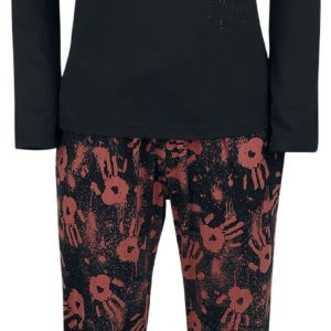 Comprar The Walking Dead Classic Logo Pijama Negro
