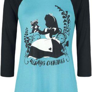 Comprar Alicia en el País de las Maravillas Always Curious Manga larga Mujer azul/negro