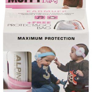 Comprar Alpine Muffy Baby Protección de oídos Rosa