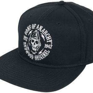 Comprar Sons Of Anarchy Redwood Original Snapback Cap Negro