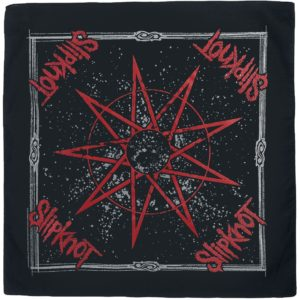 Comprar Slipknot Nine Pointed Star Pañuelo multicolor