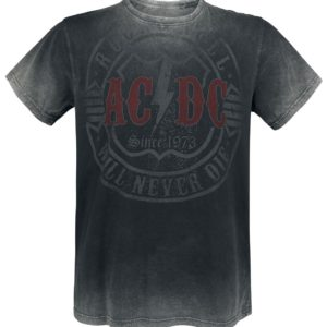 Comprar AC/DC Rock & Roll - Will Never Die Camiseta Gris oscuro