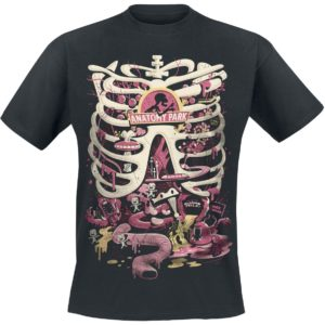 Comprar Rick and Morty Anatomy Park Camiseta Negro