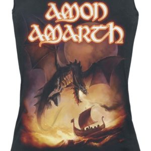 Comprar Amon Amarth On A Sea Of Blood Top Mujer Negro