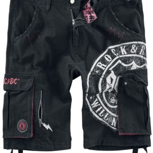 Comprar AC/DC EMP Signature Collection Pantalones cortos Negro