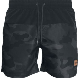 Comprar Urban Classics Block Swim Shorts Bañador camuflaje oscuro/negro