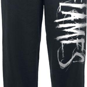 Comprar In Flames Logo Pantalones de gimnasia Negro