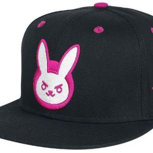 Comprar Overwatch D.VA Logo Snapback Cap Negro
