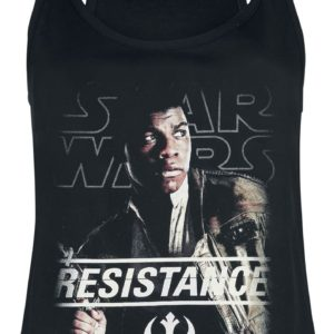 Comprar Star Wars Episode 8 - The Last Jedi - Finn The Resistance Top Mujer Negro
