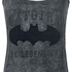 Comprar Batman Dark Night Top Mujer Gris oscuro