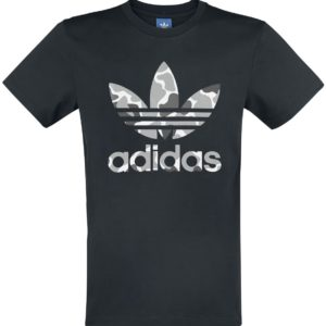 Comprar Adidas Camo Tref Tee Camiseta Negro/Camuflaje