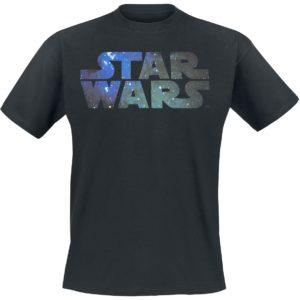 Comprar Star Wars Galaxy Logo Camiseta Negro