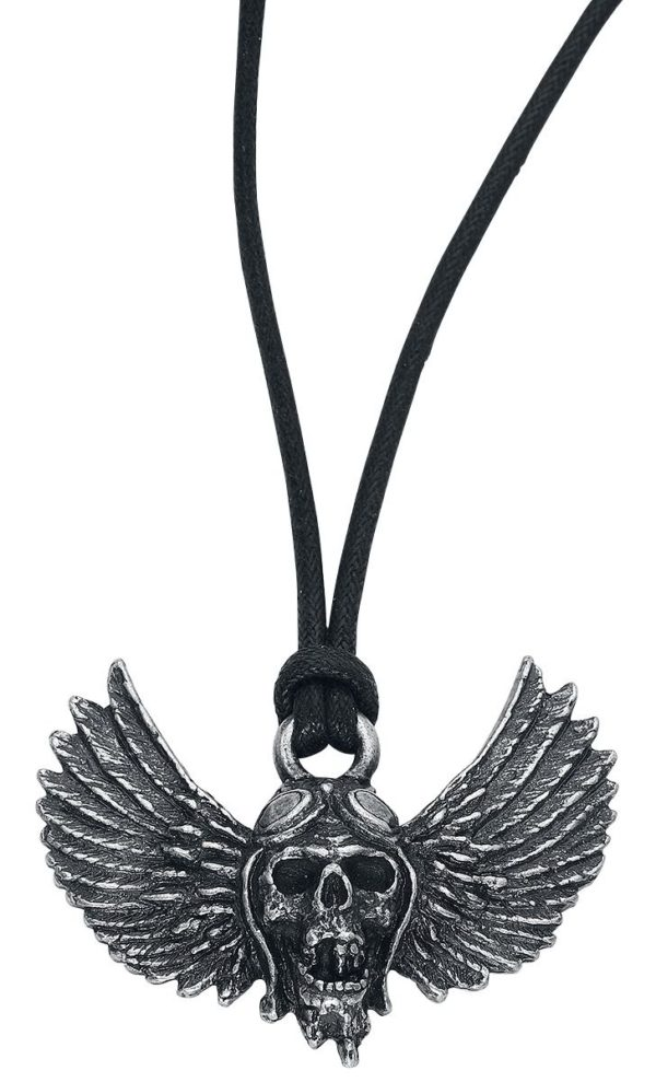 Comprar Airbourne Winged Skull Collar Plateado
