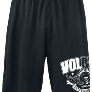 Comprar Volbeat Skullwing Ribbon Pantalones cortos Negro