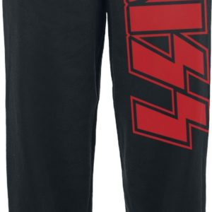 Comprar Kiss Logo Pantalones de gimnasia Negro