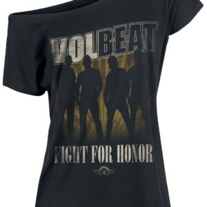 Comprar Volbeat Fight For Honor Camiseta Mujer Negro