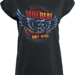 Comprar Volbeat Dimension Skullwing Camiseta Mujer Negro