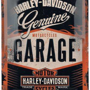 Comprar Harley-Davidson Garage - Blechschild Decoración pared multicolor