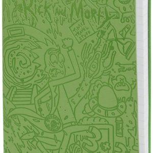 Comprar Rick and Morty Portal Dash Bloc de notas Verde