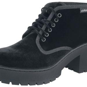 Comprar Victoria Botin Terciopelo Zapatos Negro