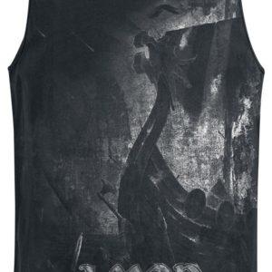 Comprar Amon Amarth One Thousand Burning Arrows Camiseta Tirantes Negro