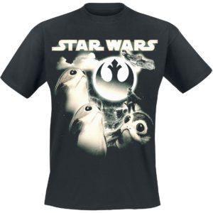 Comprar Star Wars Episode 8 - Die letzten Jedi - Porgs Moon Camiseta Negro