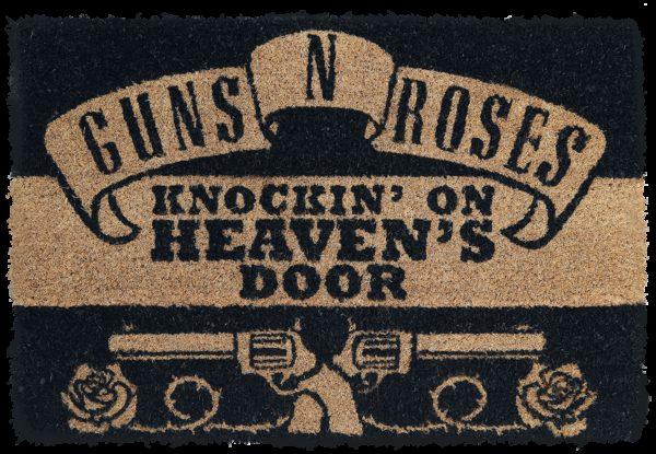 Comprar Guns N' Roses Knockin' on Heaven's Door Alfombra para puerta multicolor
