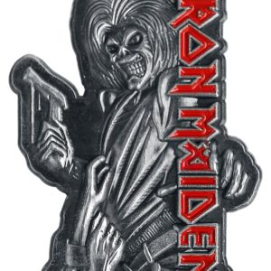 Comprar Iron Maiden Killers Pin gris/rojo