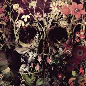 Comprar Bloom Skull Póster multicolor