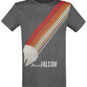 Comprar Star Wars Halcón Milenario Camiseta Antracita