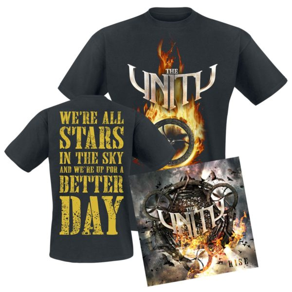 Comprar The Unity Rise CD & Camiseta standard