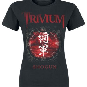 Comprar Trivium Shogun Camiseta Mujer Negro