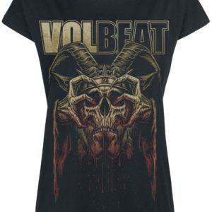 Comprar Volbeat Bleeding Crown Skull Camiseta Mujer Negro