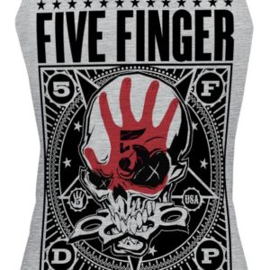 Comprar Five Finger Death Punch Punchagram Top Mujer Gris/Melé