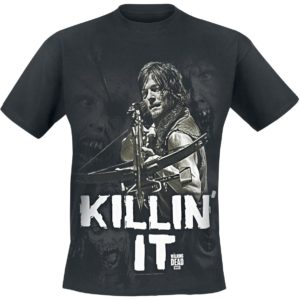 Comprar The Walking Dead Daryl Dixon - Killin' it Camiseta Negro