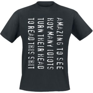 Comprar Amazing To See... Camiseta Negro