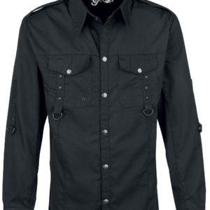 Comprar Vixxsin Torn Shirt Camisa Negro